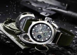 Наручные армейские часы AMST